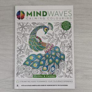 MINDWAVES Calming Colouring: Flora and Fauna