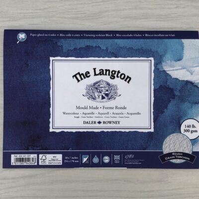 The Langton: Rough Grain Watercolour Block (10″ x 7″)
