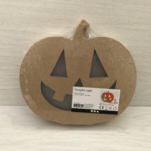 Papier-Mâché Light Up Pumpkin Head