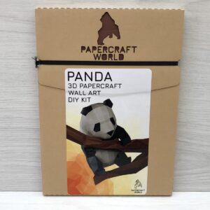 Papercraft World: 3D Model DIY Kit (Panda)