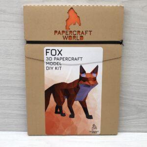 Papercraft World: 3D Model DIY Kit (Walking Fox)