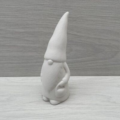 Ceramic Nordic Santa Model